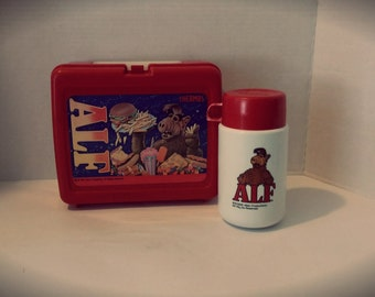 ALF 1987 Lunchbox & Thermos