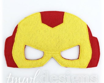 Iron Hero Mask Toy Digital Design File