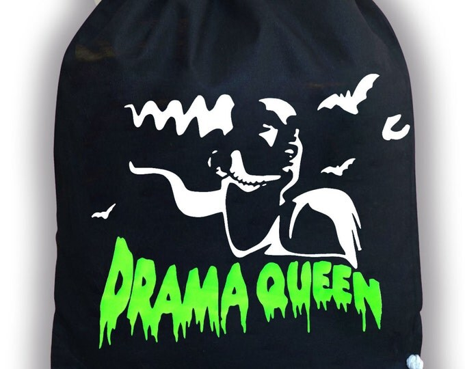 Drawstring Backpack Drama Queen