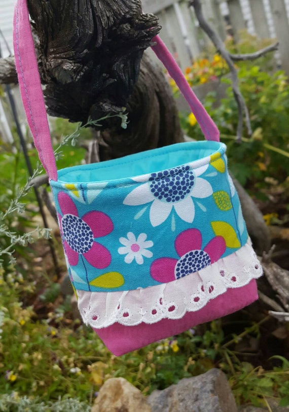 Baby's First Purse, Turquoise Toddler Purse, Little Girl's Floral  Purse