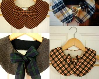 Detachable Peter Pan collars