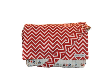 NEW Arrow with Red Chevron Camera and Messenger Bag