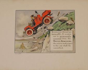 Vintage Car Prints
