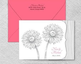 Lucy All Inclusive Wedding Invitation Sample