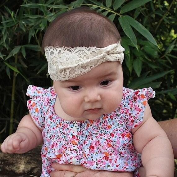 Baby Girl Turban, Toddler Headband, Tan Headwrap, Girls Turban, Toddler Turban, Baby Turban, Newborn Headwrap, Women's Turband