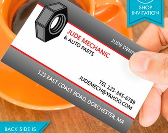 Auto Repair Business Card (Free Shipping)