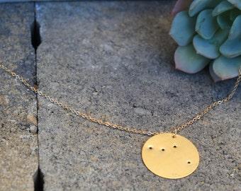 Libra Constellation Pendant Necklace