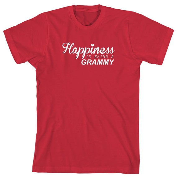 Happiness Is Being A Grammy Shirt, mother's day gift idea, grandmother's day, Christmas - ID: 1428