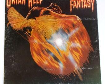 1975 Uriah Heep Return to Fantasy Vinyl LP Record BS2869