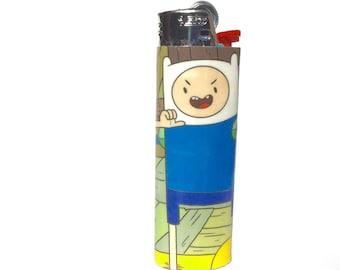 Adventure Time Finn and Jake Comic Book Custom Bic Lighter