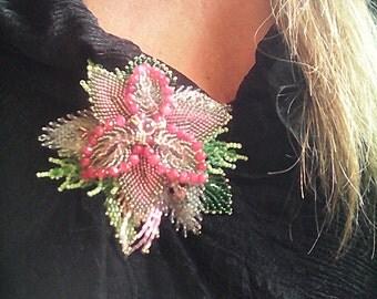 "Spillla ""EMMA"" handmade jewelry,perline e  pietre dure,cristalli"