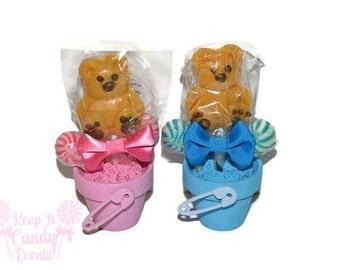 Baby Shower Bear Lollipop Favors, Its a Girl, Its a Boy, Baby Shower Candy Favor, Baby Shower Favor, Themed Baby Shower, Unique Baby Shower