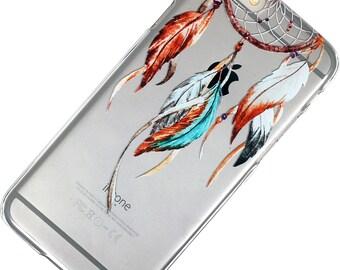 Watercolor Dream Catcher iphone case clear Phone Case iPhone 6, 7, SE, 6 Plus, 7 Plus, 6S, 5, 5C, 5S, Galaxy S6, S7, Note 5, Note 7