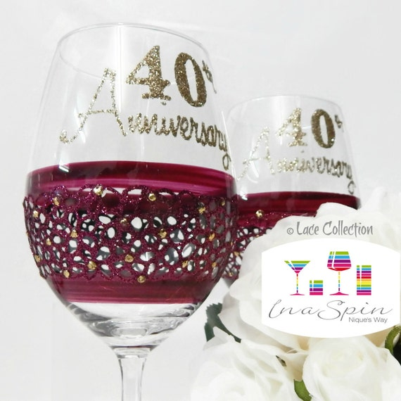 Ruby Wedding Gift For Parents : Gift For Parents Ruby Anniversary Gifts 40th Anniversary Gift For Ruby ...