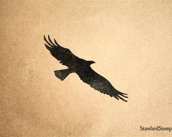 Condor Rubber Stamp - 2 x 2 inches