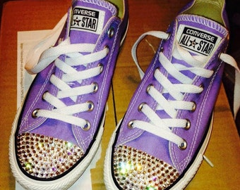 Swarovski Crystal Converse Sneakers MADE TO ORDER