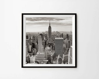 New York, New York Photography, New York Print, 8 x 8 in, 10 x 10 in, 12 x 12 in, Digital Download, Printable