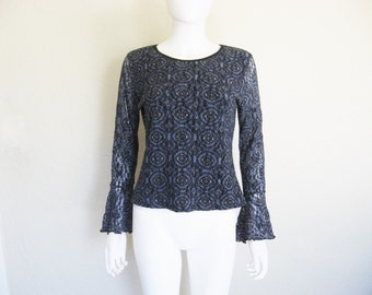 REDUCED PRICE !!!! Blue Bell Sleeve Long Sleeve Top
