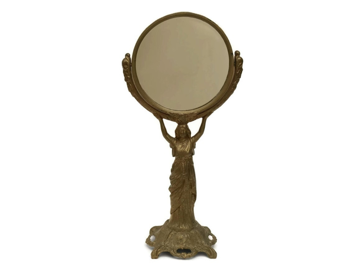 Makeup vanity mirror antique french mirror antique looking for French mirror