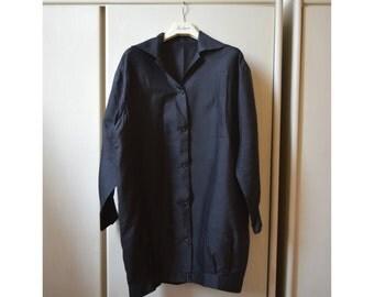 Women's lightweight jacket 60s dark blue