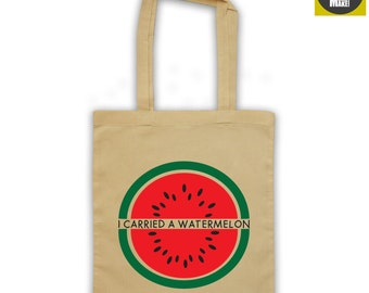 DIRTY DANCING TOTE, I carried a watermelon, free uk shipping, shopper bag funny classic 80's movie quote