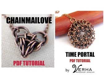 2 for 1, two for one, chainmaille tutorials, pdf file