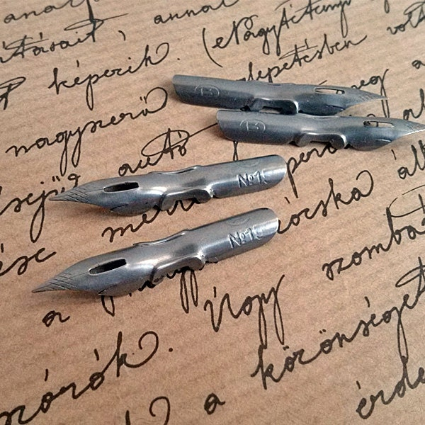 Vintage Pen Nibs Unused Fountain Pen Nib Calligraphy Ink Pen