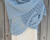 Shawl, Wedding Shawl, Crochet Shawl