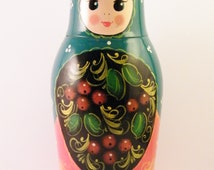 Matrioshka Coffee Grinder - Vintage Electrical Soviet Matryoshka Nesting Doll Coffee Mill - Babushka Matriochka Doll - Quirky Kitchen Decor