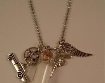 Supernatural Handmade Charm Necklace