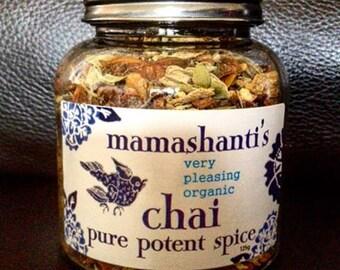 mamashanti's original very pleasing organic chai