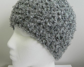 Gray Beanie Grey Beanie Crocheted Gray Beanie Hat Crocheted Grey Beanie Hat Gray Beanie Hat Grey Beanie Hat