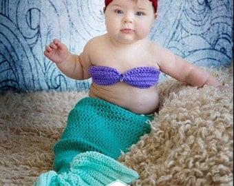 mermaid costume etsy - Baby Mermaid Halloween Costume