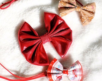 Ruby Bow . Red Bow . Holiday Bow . Sparkly Bow . Snow White Bow . Fairy Tale Bow . Disney Princess