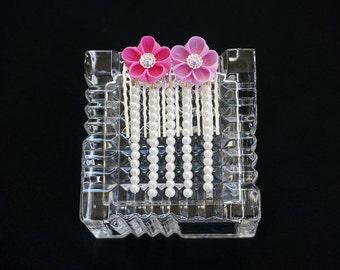 Pink Hime Gyaru Jewel Kanzashi 255