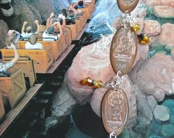 Frontierland Pressed Penny Bracelet- Disneyland