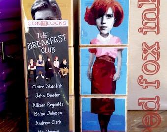 The Breakfast Club IconBlocks wood block puzzle: 80s cult classic favourites