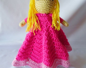 Princess Aurora Inspired Lovey/Security Blanket