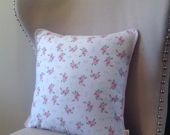 Shabby chic scatter cushion