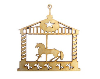 Carousel Ornament - Carousel Horse Ornament - Carousel Ornaments - Carousel Gifts - Carousel Decorations - Personalized Free