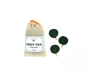 Feet Tea - Refreshing & Deodorizing Foot Soak for soft sandal ready feet for summertime