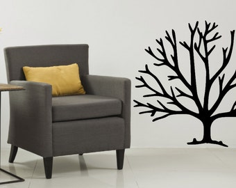Tree Wall Decal - Family Tree Wall Decal - Tree wall art - Tree without  leaves - Winter Tree - Autumn Tree - Fall Tree - Tree of Life