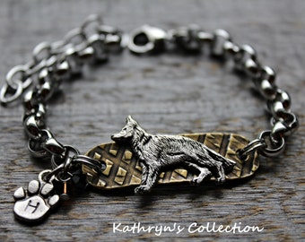German Shepherd Bracelet, German Shepherd Jewelry