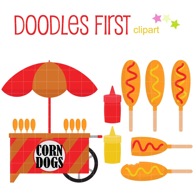 free corn dog clipart - photo #50