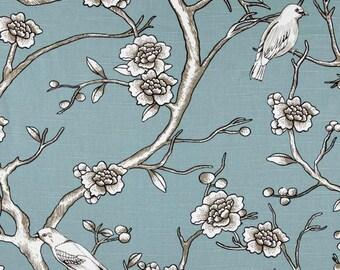 Robert Allen Dwell Studio Vintage Blossom Slub Jade