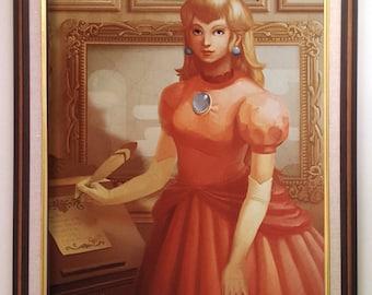 "18""x24"" Princess Peach Poster Print"