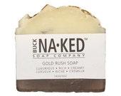 Natural Soap Gold Rush Soap - Soap, Vegan Soap, Handcrafted Soap, Cold Process Soap, Gentle Soap, Glycerin Soap, Soap