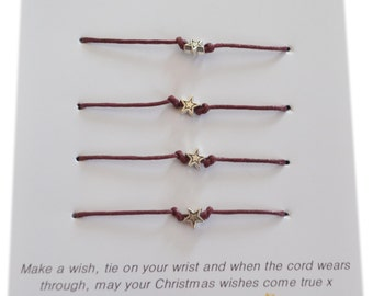 A Bit Krafty, A Christmas wish, From our Family to Yours, Wish Bracelet