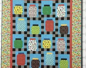 """Garden Critters Quilt Kit 55"""" x 63"""""""