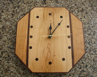 Spalted Cherry Wall Clock